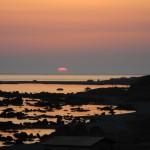 折戸浜の夕暮れ